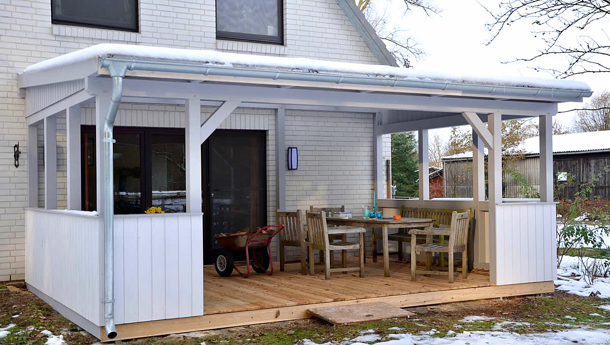 terrassen berdachung aus meisterhand richter z une. Black Bedroom Furniture Sets. Home Design Ideas